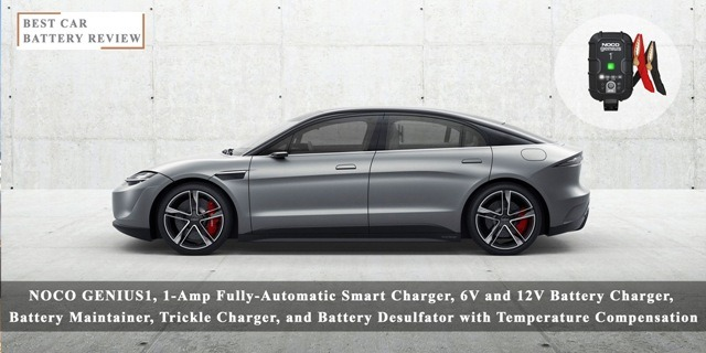 NOCO GENIUS1 Fully-Automatic Charger | 1-Amp Fully-Automatic Smart Charger, 6V - Best Car Battery Reviews